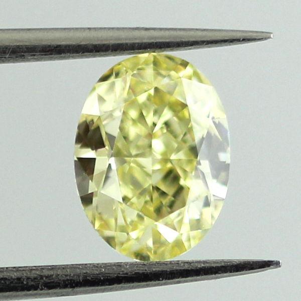 Fancy Yellow Diamond, Oval, 1.04 carat, VS2