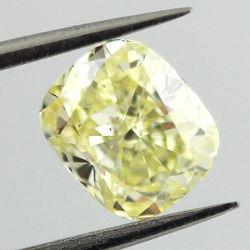 Fancy Yellow, 1.01 carat, SI1