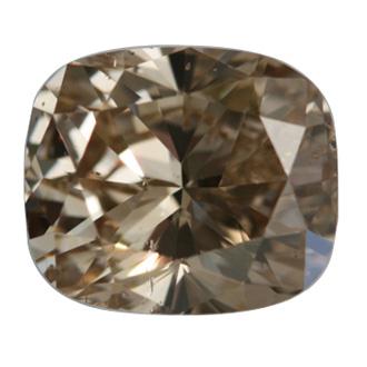 Fancy Yellowish Brown, 5.02 carat, SI2