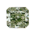 Fancy Yellowish green, 1.99 carat, SI1