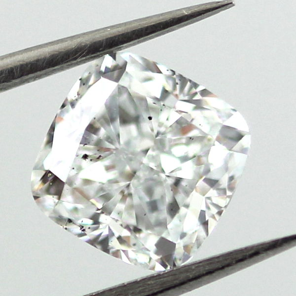 Light Blue Diamond, Cushion, 1.37 carat, SI1