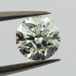 Light Green, 0.52 carat, I1