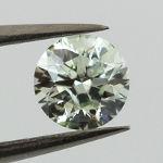 Light Green, 0.52 carat, I1
