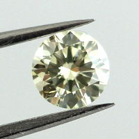 Light Greenish Yellow, 0.40 carat, SI2
