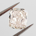 Light Pink Brown, 0.62 carat, VS2