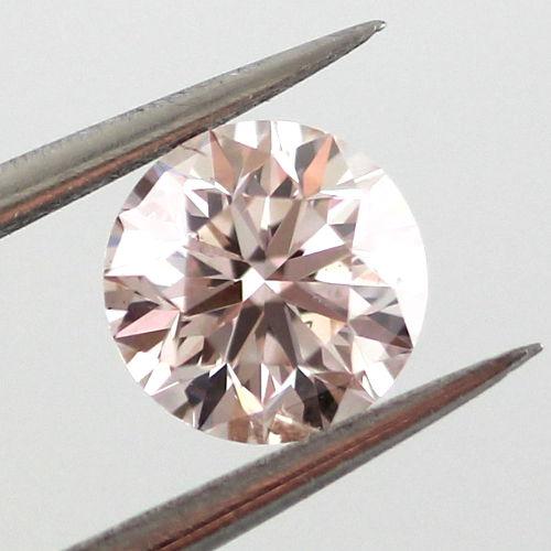 Light Pink Diamond, Round, 0.56 carat