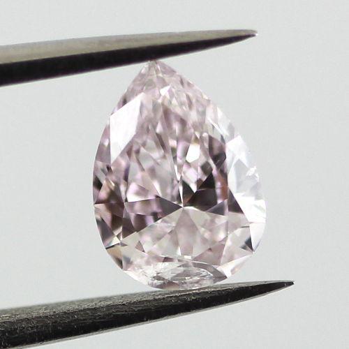 Light Pink Diamond, Pear, 0.51 carat