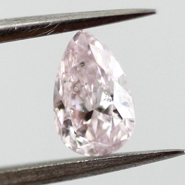 Light Pink Diamond, Pear, 0.50 carat