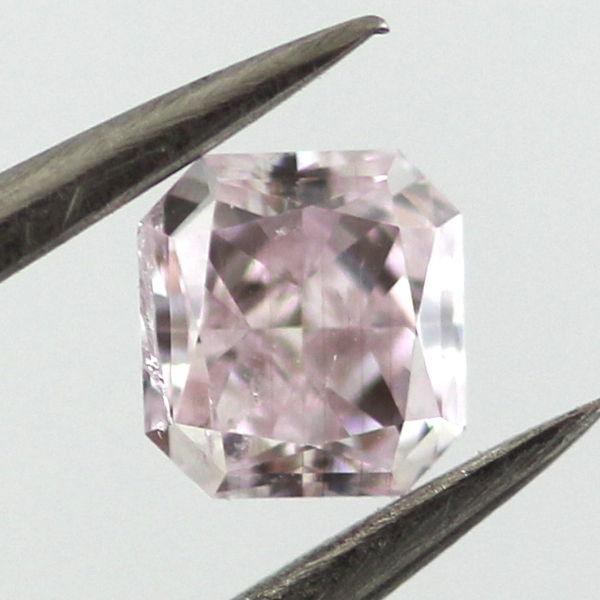 Light Pink Diamond, Radiant, 0.32 carat