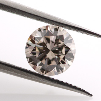 Light Pinkish Brown (not applicable), 0.65ct, VS1