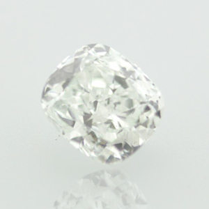 Very Light Blue Diamond, Cushion, 0.64 carat, SI2 - Thumbnail