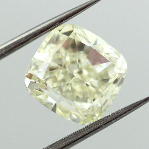 Very Light Yellow (w-x), 4.01 carat, SI2