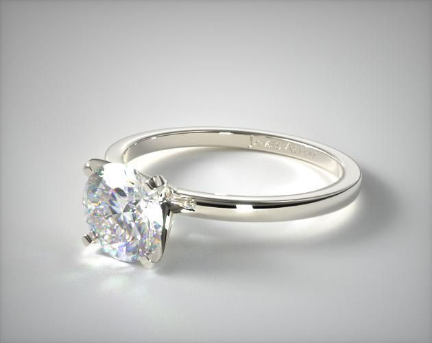1 carat diamond engagement ring - solitaire - $500
