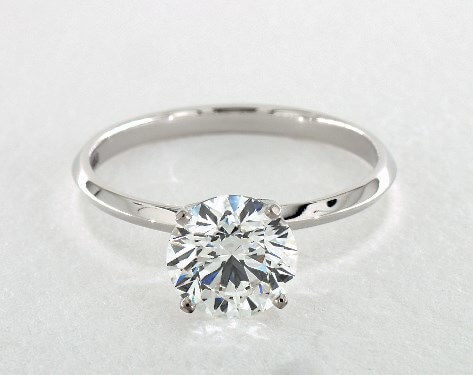 Round 2 carat diamond ring, F VS1 worth $21,470