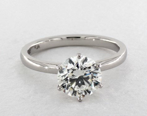 Round 2 Carat Diamond Ring, I, SI1