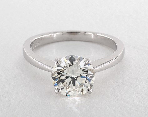 Round 2 Carat Diamond Ring, J, SI1