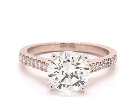 Pave 2 carat diamond ring, G SI1 worth $14,185