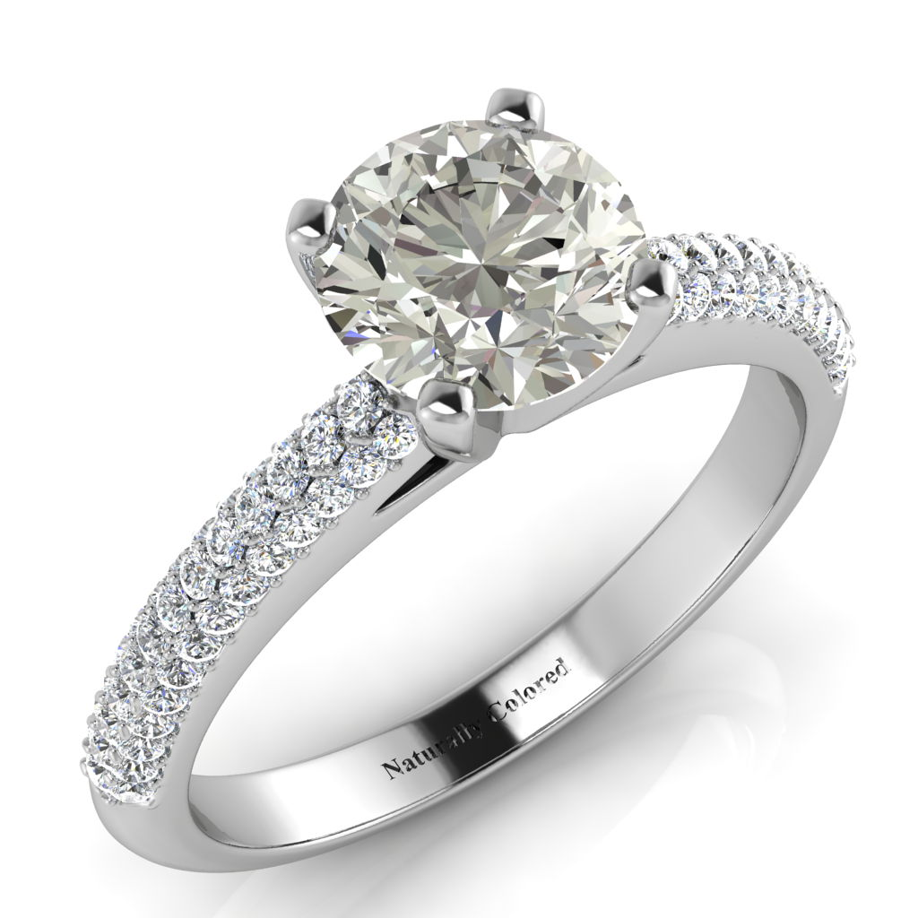 b gold r solitaire in rings carat dimond brilliant round engagement w diamond product ring prong white six