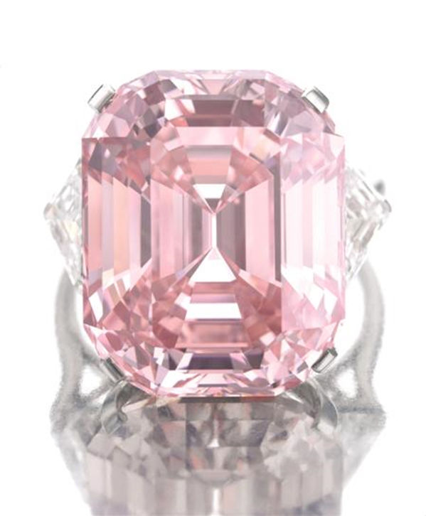 The Graff Pink Diamond From Fetching To Flawless