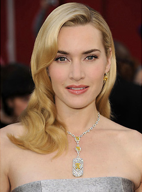 Kate Winslet wearing Yellow Diamonds