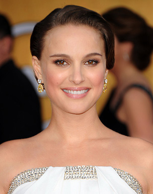 Natalie Portman wearing Yellow Diamonds