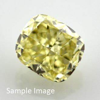 Fancy Intense Yellow, 1.66 carat, VVS2
