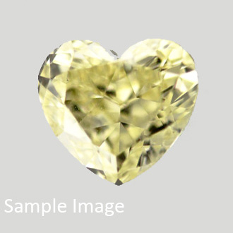 Fancy Intense Yellow, 0.57 carat